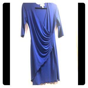 Joseph Ribkoff royal blue size 10 dress